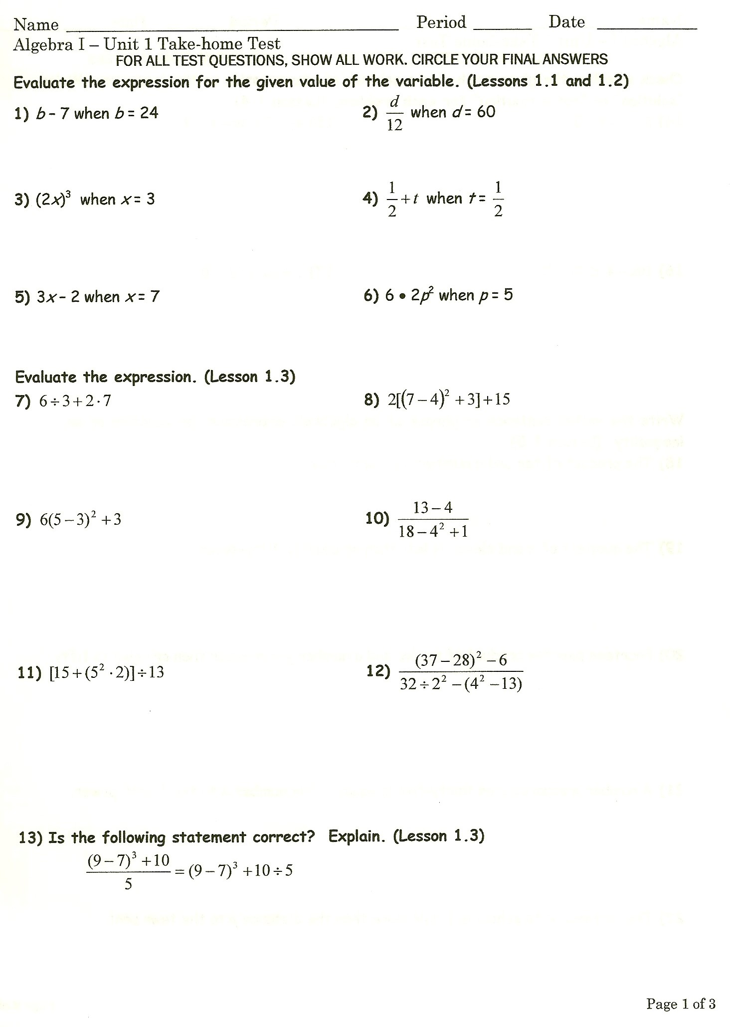 algebra 1 ms kulcsar s website file